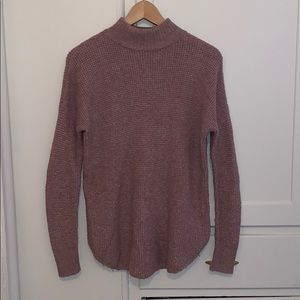 Mauve AE  turtleneck sweater